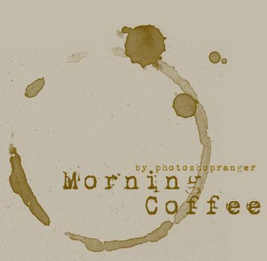 Morning Coffee-PS Brush