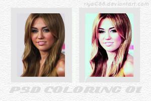 PSD Coloring 01 by riyaC88