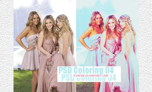 PSD Coloring 04 by riyaC88