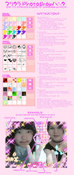Purikura Photoshop Kit by akenon
