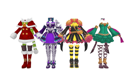 (Eden Eternal) Female Outfits 1