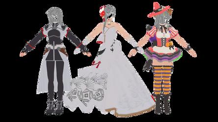 (Star Ocean Anamnesis) Female Outfits 2
