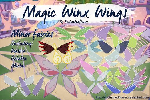 Minor Fairy Magic Winx Wings