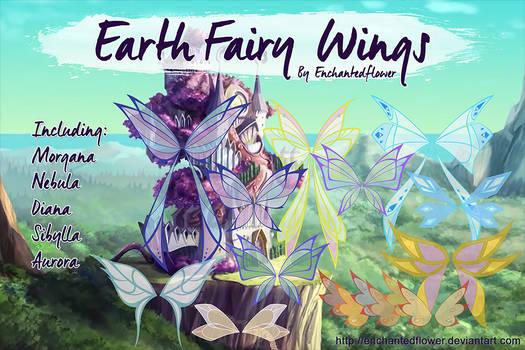 Earth Fairy Wings