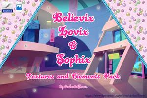 Belieivx + Lovix + Sophix Pack by Enchantedflower