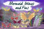 Mermaid Wings and Fins