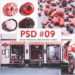#08 PSD COLORING FRESH RED by KlarieV