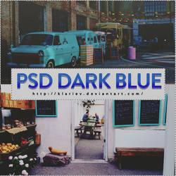 #10 PSD COLORING DARK BLUE by KlarieV