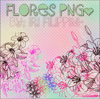 Flores PNG. by GomezMyDilemma