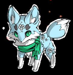 (Winter) Wolf Adopt {Open} by UnicornDrawsXX
