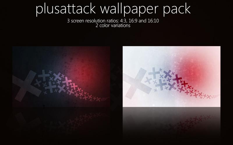 PlusAttack Wallpaper Pack