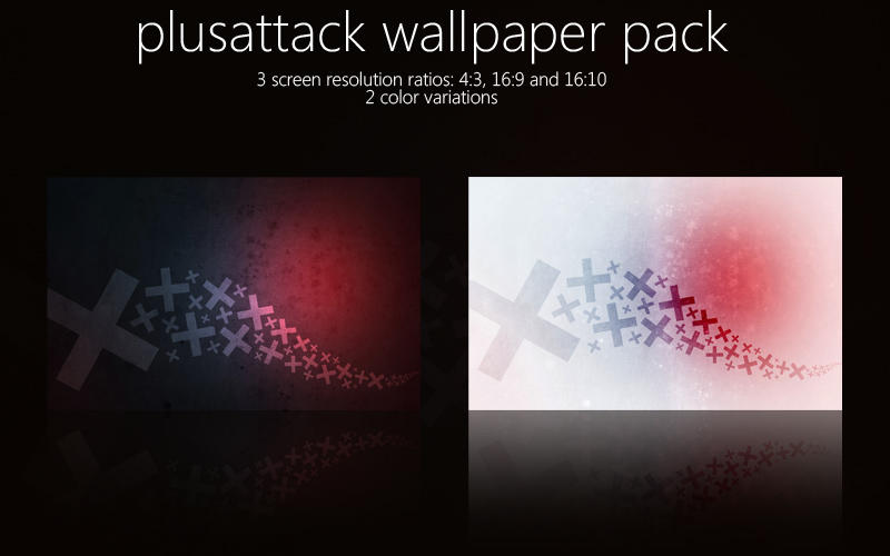 PlusAttack Wallpaper Pack by wojtekmaj
