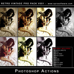 Retro Vintage Pro Pack v001