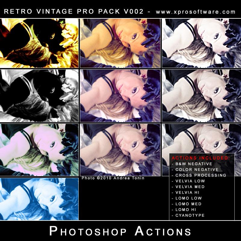 Retro Vintage Pro Pack v002