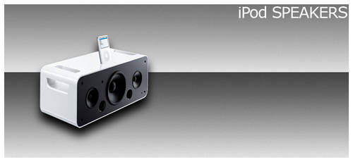 iPod Speakers by funk-meister