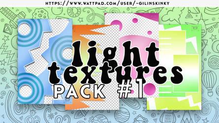 Pack de texturas light #1 by gilinskinky