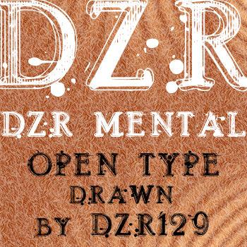 DZR MENTAL OTF by _DZER129 by ressamac