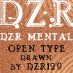 DZR MENTAL OTF by _DZER129
