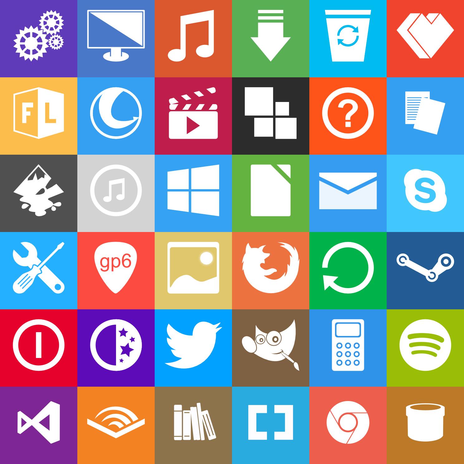 Custom Windows 8 Metro Icons Gallery Diagram Writing Sample Ideas And Guide