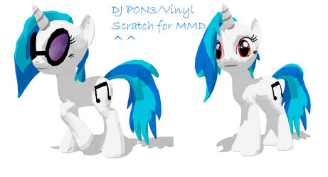 DJ P0N3 for MMD