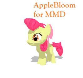 AppleBloom for MMD