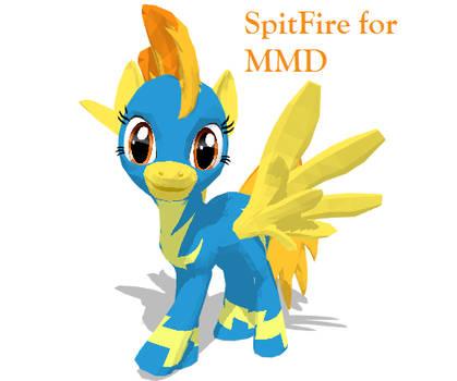 SpitFire for MMD