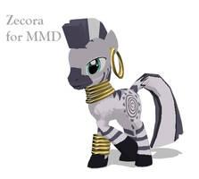 Zecora for MMD