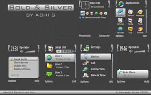 Bold Silver by ABHI24