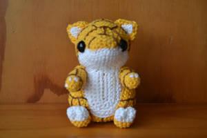 Crochet Sandshrew by Blisca