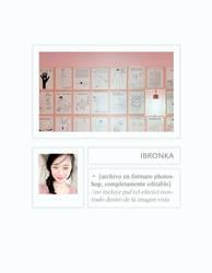 plantilla / template .psd #007 by ibronka