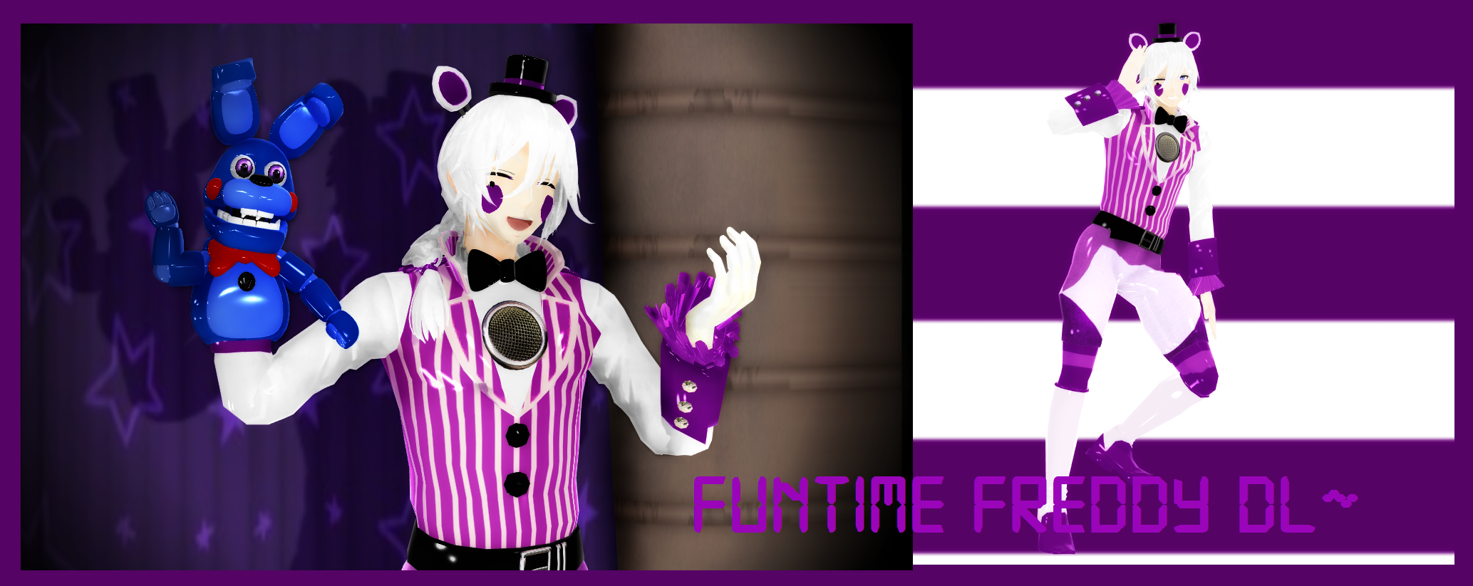 Mmd Funtime Freddy: Funtime Freddy (Model DL) FIX Update By NeyMarlon On