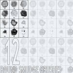 Round Smudge Brushes