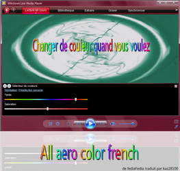 All aero color skin french by kaz28100