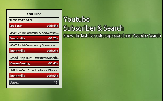 Youtube Subscriber and Search 1.0 by kaz28100