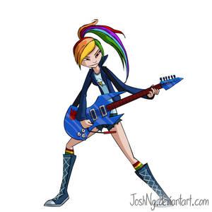Rainbow Rockin' - Animation