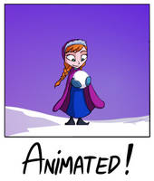 It Doesn't Have To Be A Snowman (Anna Animation) by JoshNg