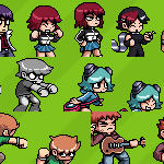 Scott Pilgrim dA Icon Pack by nasakii