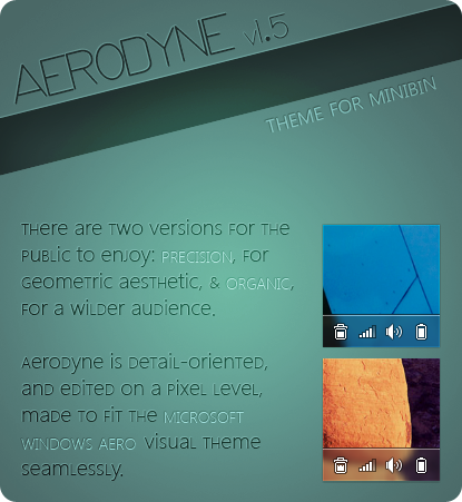 AERODYNE - Theme for MiniBin by Mareepu