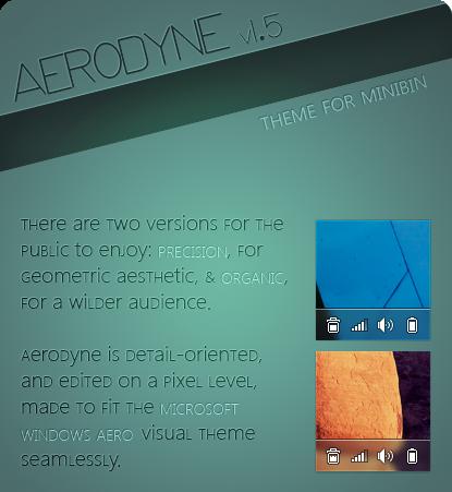 AERODYNE - Theme for MiniBin by Mareepu