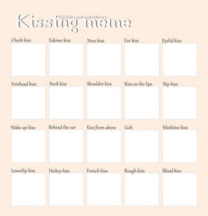 :Kissing:Meme:Template: