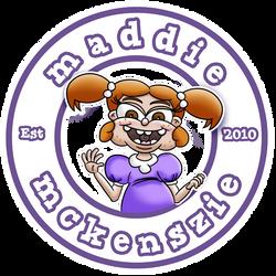 Maddie Mckenszie Circular Logo by ronaldhennessy