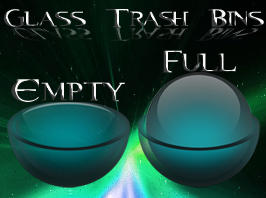 glass trash by Necro949445