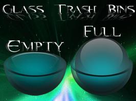 glass trash by Necro949445