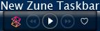 new zune taskbar by Necro949445