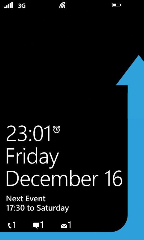 Windows Phone 7 Lockscreen