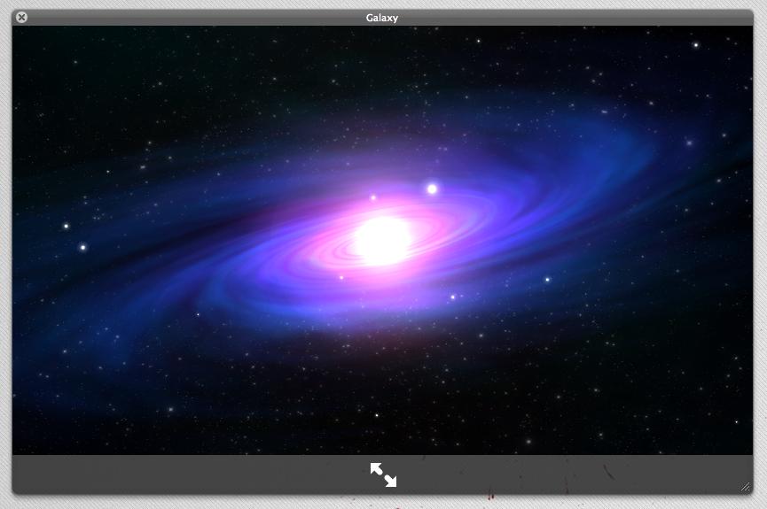 Lion Screensaver Galaxy