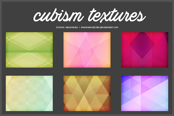 Cubism Inspired Texture Pack