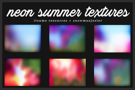 Neon Summer Texture Pack