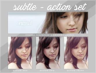 Subtle - Action Set