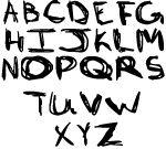 Deviant19 Sketch font